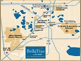 Bella Trae Map